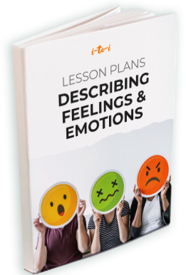 describing feelings and emotions lesson plan ebook mockup