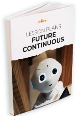 future continuous lesson plan ebo
