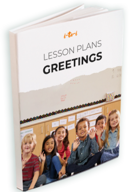 greetings lesson plan ebook mockup
