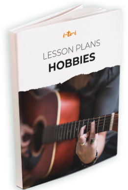hobbies lesson plan ebook mockup