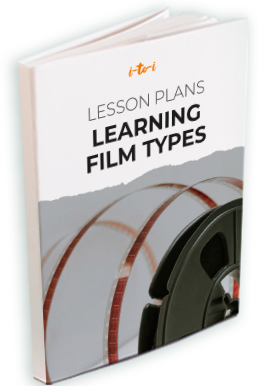 learning film types lesson plan ebook mockup