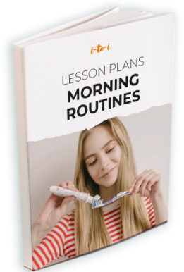 morning routines lesson plan ebook mockup