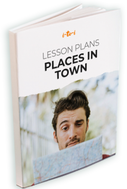 places in town lesson plan ebook mockup