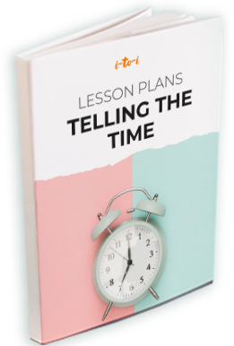 telling the time lesson plan ebook mockup