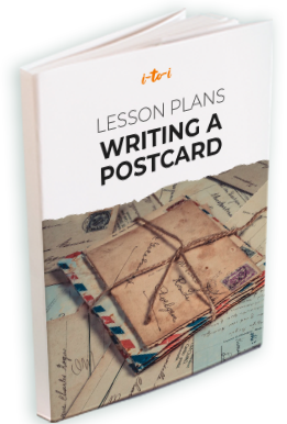 writing a postcard lesson plan ebook mockup