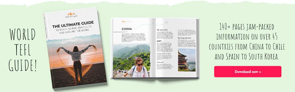 World TEFL guide download banner