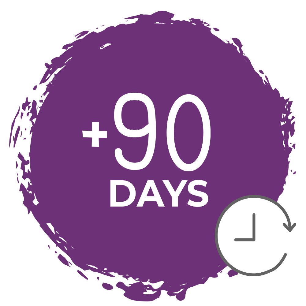 +90 days extension