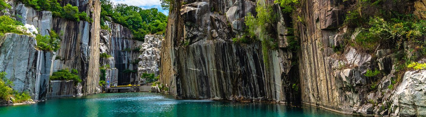 Waterfall in South Korea