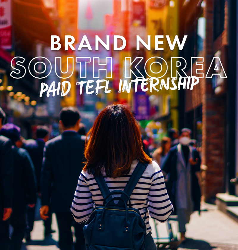 South Korea Internship