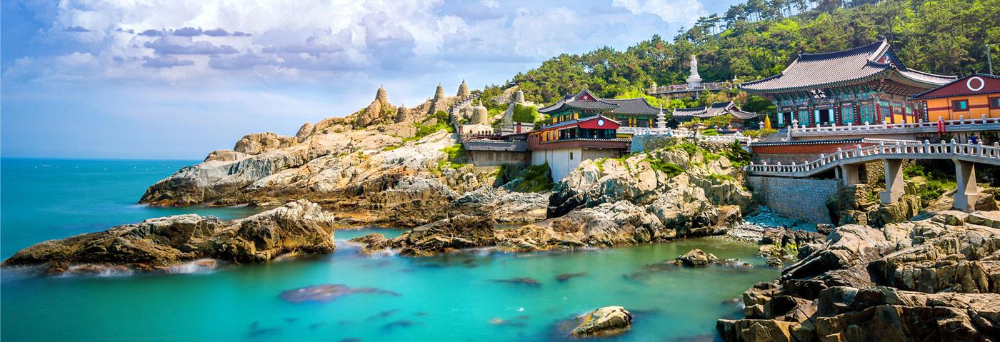 South Korea Busan seaside