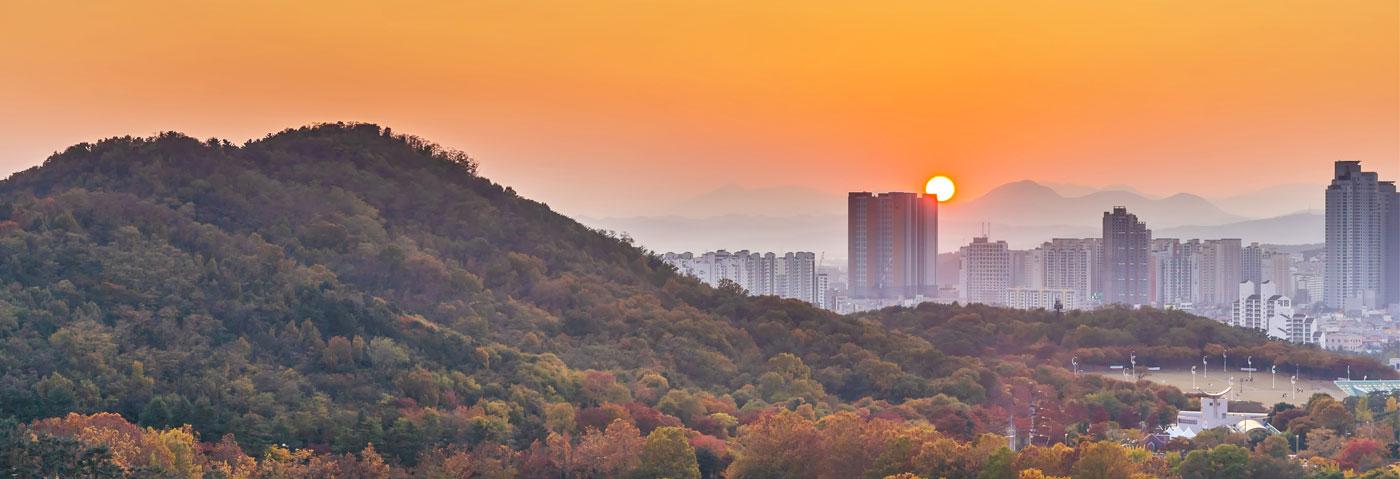 South Korea Deagu landscape