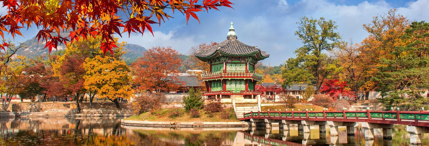 South Korea Seoul city skyline