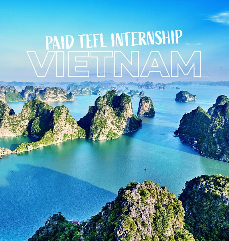 Paid TEFL Internship in Vietnam