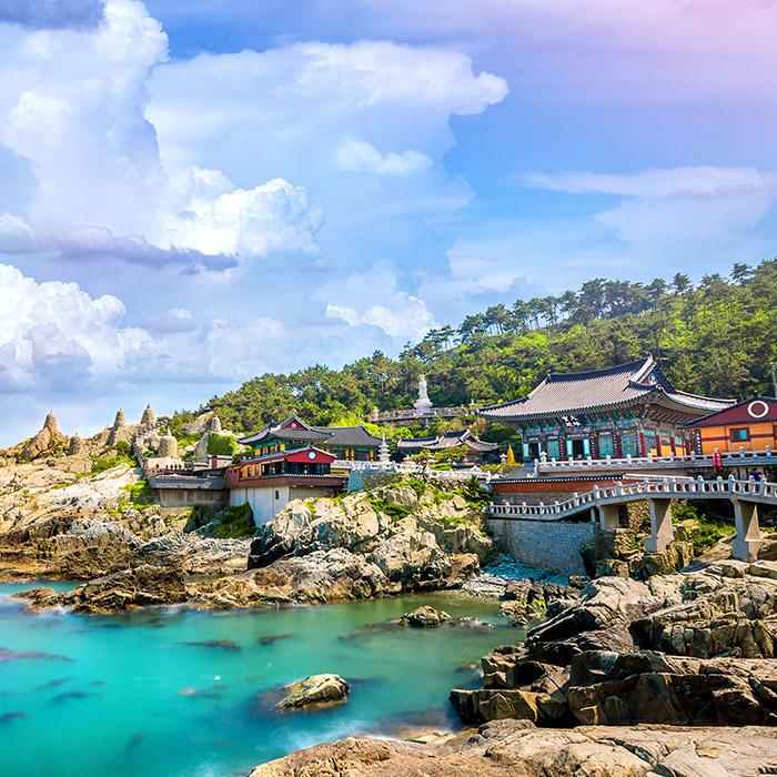 South Korea beach