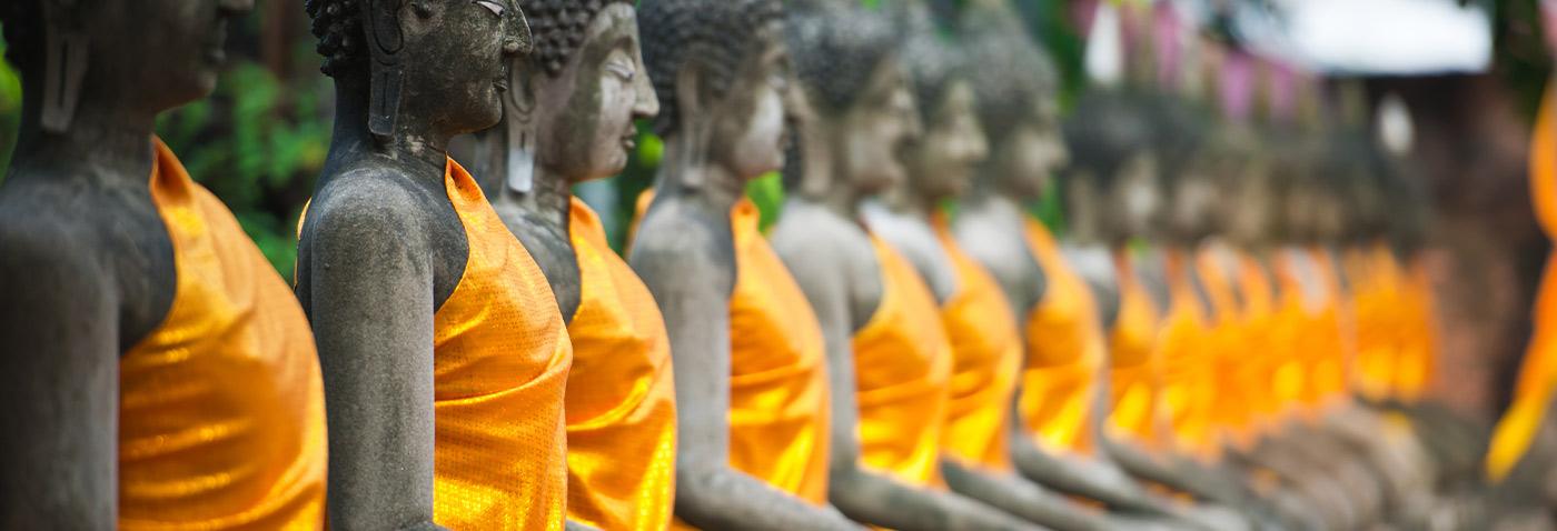 Thailand Temple Statues