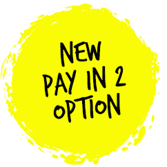 Pay in 2 Option Badge